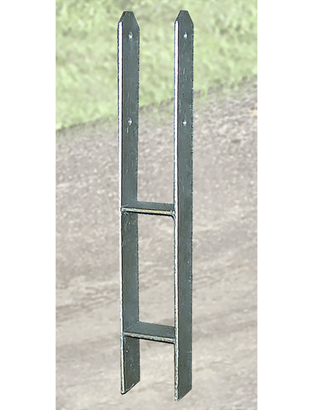 WEKA H-Pfostenanker-Set, für Pfosten mit 12x12 cm, 8 Stück