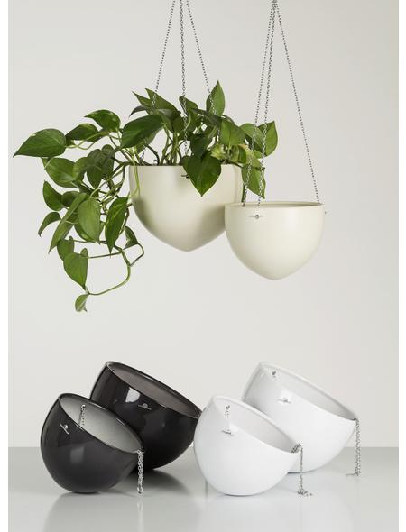 SCHEURICH Hängeampel »HANGING POT«, Breite: 18 cm, weiß, Keramik