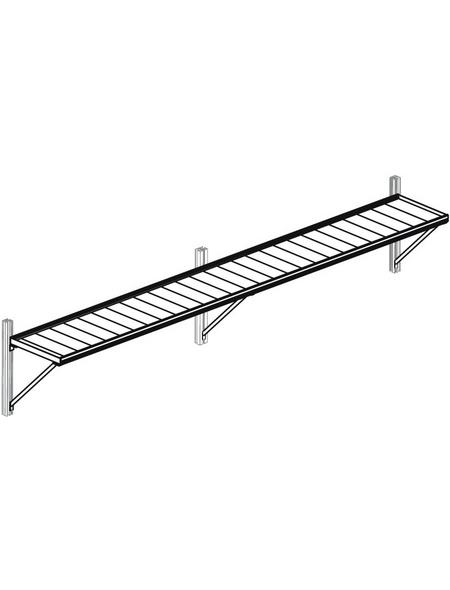 KGT Hängebord »Linea«, BxLxH: 217 x 26 x 4 cm, Aluminium