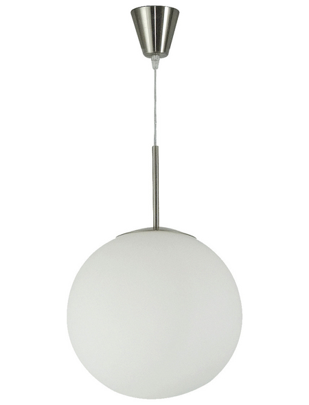 Hängeleuchte »BALLA« weiß 60 W, 1-flammig, E27, inkl. Leuchtmittel