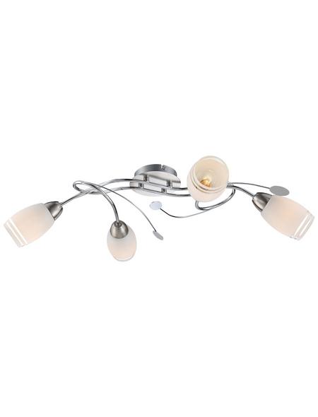 Hängeleuchte »BOSPORUS« chromfarben 40 W, 4-flammig, E14, inkl. Leuchtmittel