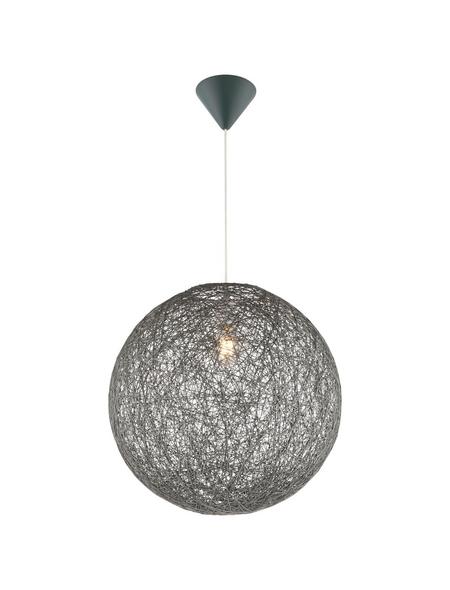 Hängeleuchte »COROPUNA« grau 60 W, 1-flammig, E27, inkl. Leuchtmittel