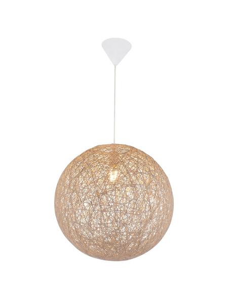 Hängeleuchte »COROPUNA« weiß 60 W, 1-flammig, E27, inkl. Leuchtmittel