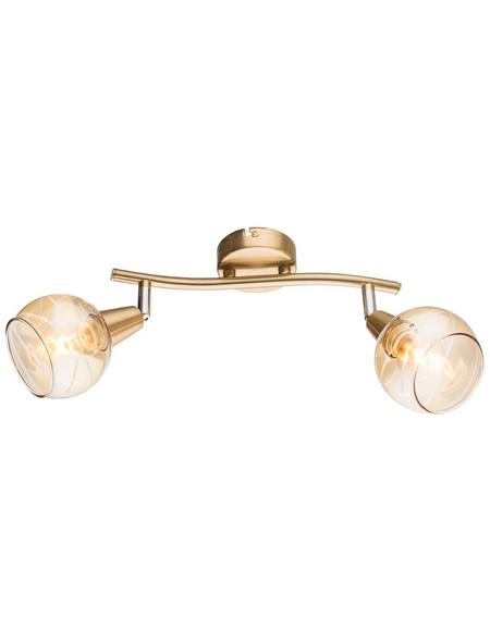 Hängeleuchte »LARA« goldfarben 4 W, 2-flammig, E14, inkl. Leuchtmittel
