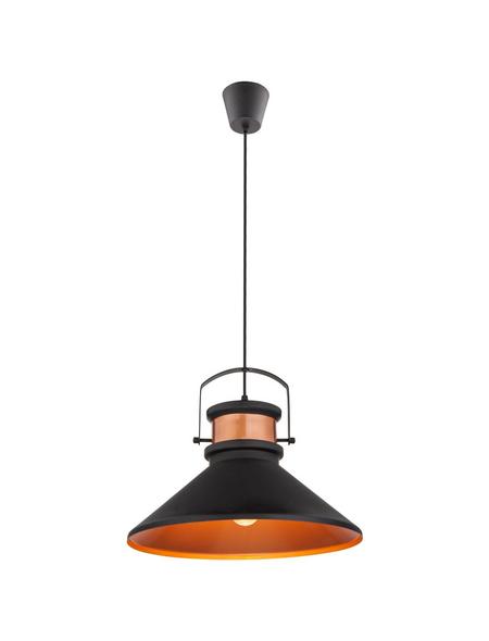Hängeleuchte »LICATA« schwarz 60 W, 1-flammig, E27, inkl. Leuchtmittel
