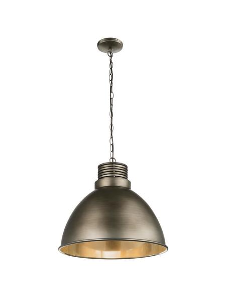 Hängeleuchte »TAGABO« aluminiumfarben 60 W, 1-flammig, E27, inkl. Leuchtmittel