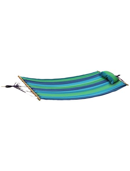 Hängematte »Hawaii«, Liegefläche: 200 x 100 cm, blau/grün