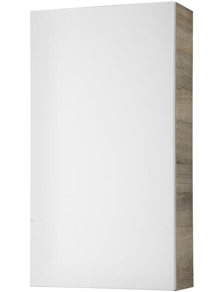 FACKELMANN Hängeschrank, BxHxT: 41,5 x 85,5 x 6,5 cm