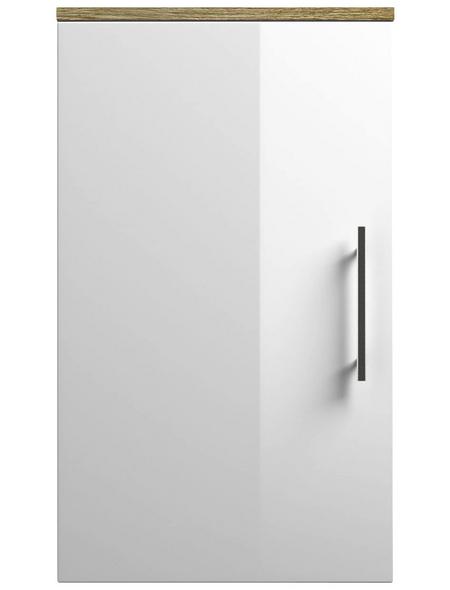 POSSEIK Hängeschrank »SALONA«, BxHxT: 35 x 62 x 16,6 cm, eiche hell