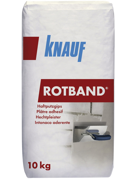 KNAUF Haftputzgips, Grau, 10 kg