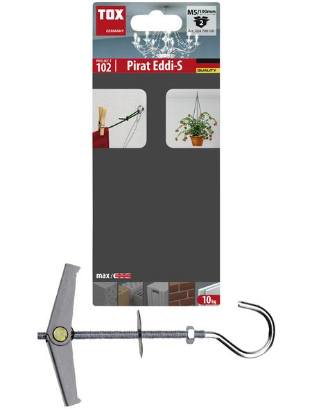 TOX Hakendübel, Stahl | verzinkt, 2 Stück, 18 x 100 mm