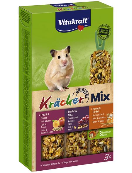 VITAKRAFT Hamster-Snack »Kräcker® Original«, 168 g (3 Kräcker), Multi-Vitamin