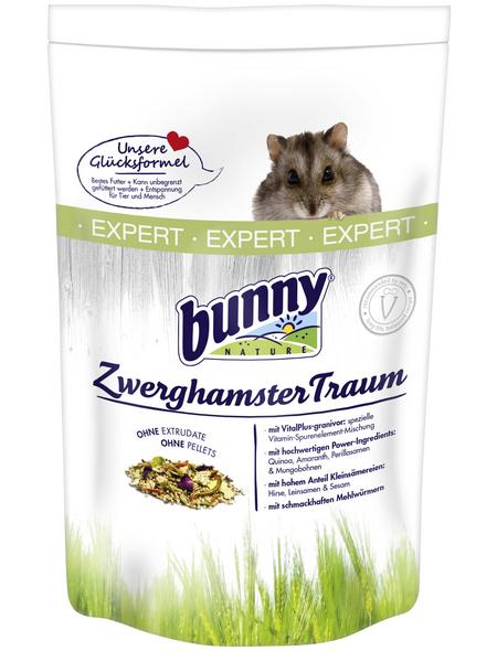BUNNYNATURE Hamsterfutter »ZwerghamsterTraum Expert«, für Zwerghamster