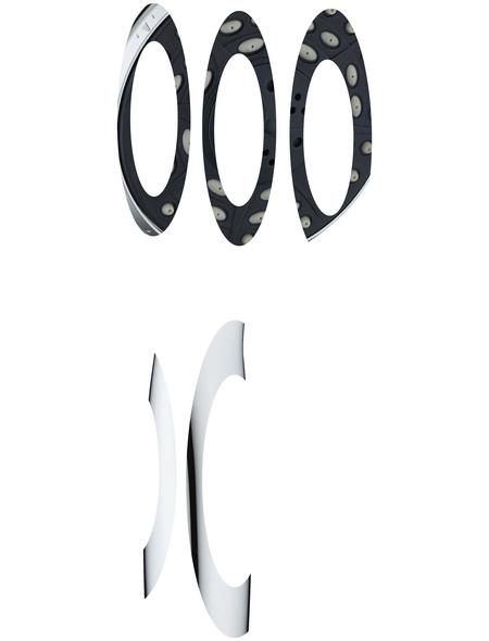 SCHÜTTE Handbrause »Bari«, Ø 10 cm, chromfarben