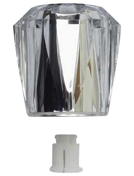 WELLWATER Handgriff, Kunststoff, transparent