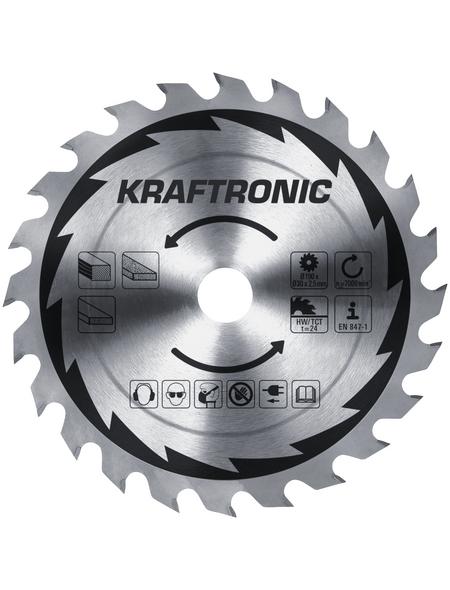 KRAFTRONIC Handkreissäge »KT-HK 1400«, 1400 W, 230 V, Durchmesser Sägeblatt: 190 mm