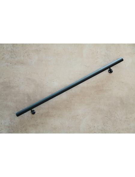 DIEDA Handlauf-Set »Kompakt«, Stahl, Länge: 120 cm