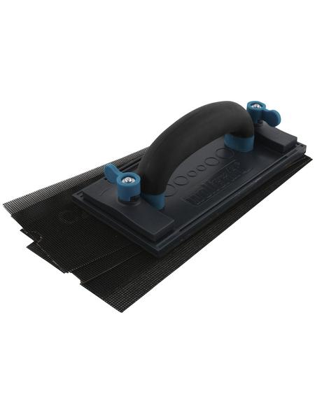 WOLFCRAFT Handschleiferset Kunststoff 23 x 11 x 8 cm 5-tlg.