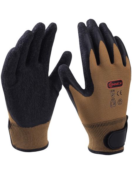 CONNEX Handschuh, braun, Latexbeschichtet