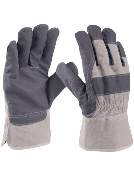 CONNEX Handschuh, grau, PVC-beschichtet