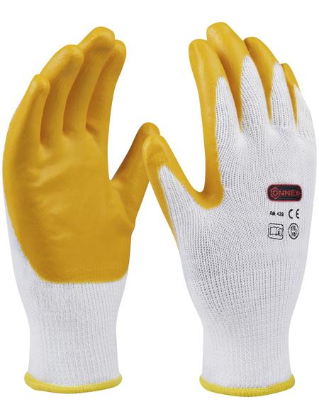 CONNEX Handschuh »Latex«, gelb, Naturlatex