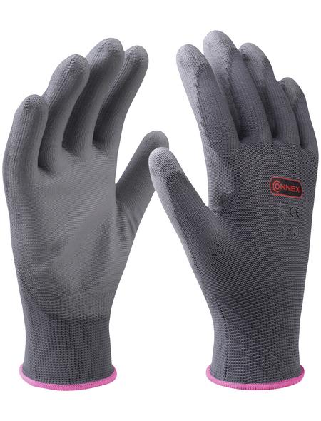 CONNEX Handschuh »Paint«, grau, PU-beschichtet