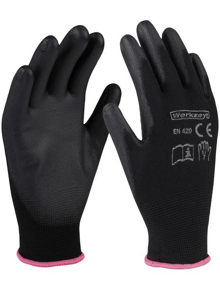 werkzeyt Handschuh, schwarz, Soft-PU-beschichtet