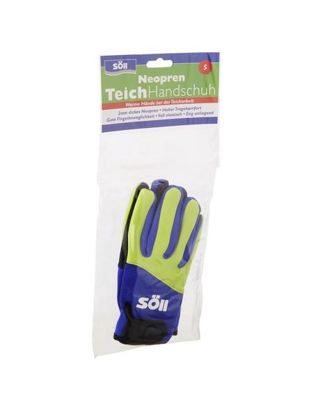 Handschuhe, Größe: S, gelb/blau