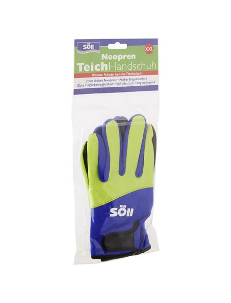 Handschuhe, Größe: XXL, gelb/blau