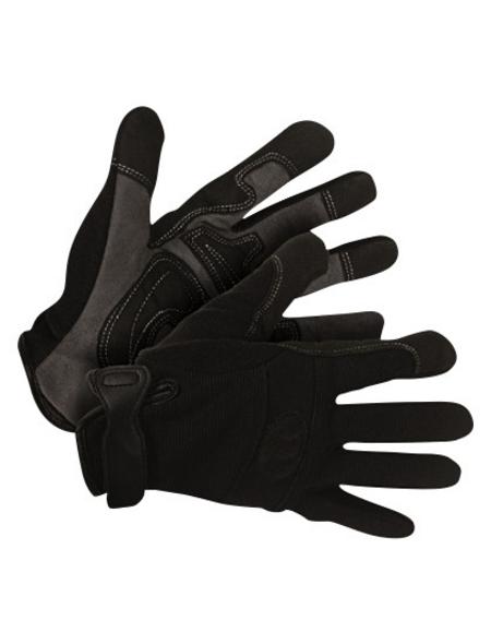 KIXX Handschuhe »Synthetik Leder/Elastan«, schwarz