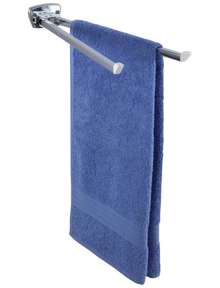 WENKO Handtuchhalter »Basic«, BxHxT: 8 x 5,5 x 42 cm, edelstahlfarben