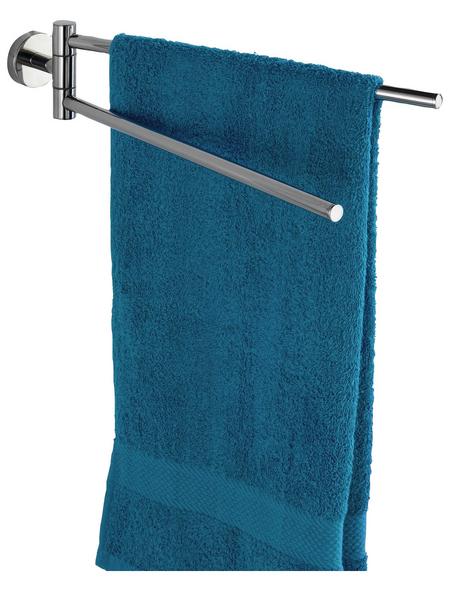WENKO Handtuchhalter »Bosio«, BxHxT: 5,5 x 9 x 43 cm, edelstahlfarben