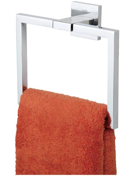 TIGER Handtuchhalter »Items«, BxHxT: 17,5 x 16 x 6 cm, chromfarben