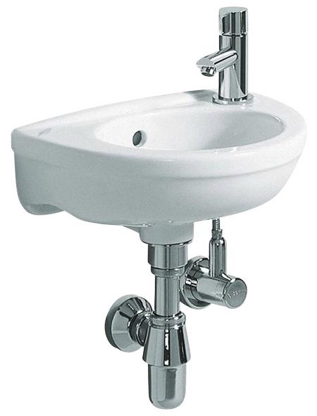 GEBERIT Handwaschbecken »Fidelio«, Breite: 374 cm, halbrund