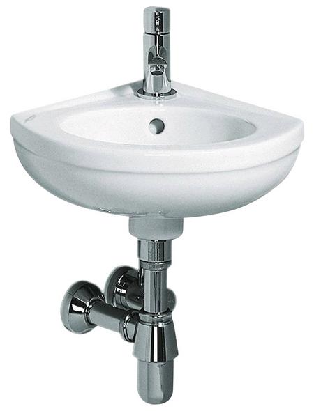 GEBERIT Handwaschbecken »Fidelio«, Breite: 38 cm, dreieckig