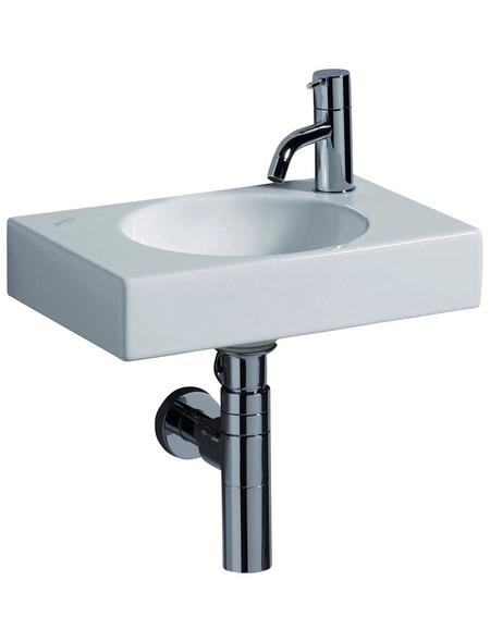 GEBERIT Handwaschbecken »Preciosa II«, Breite: 40 cm, eckig