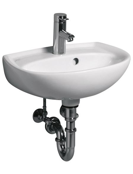 KERAMAG Handwaschbecken »Renova«, Breite: 45 cm, eckig, rund