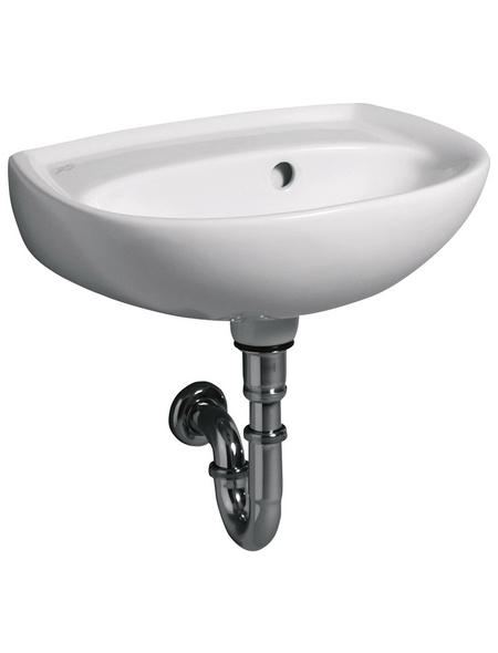 GEBERIT Handwaschbecken »Renova«, Breite: 45 cm, halbrund