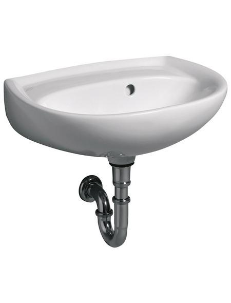 GEBERIT Handwaschbecken »Renova«, Breite: 50 cm, halbrund