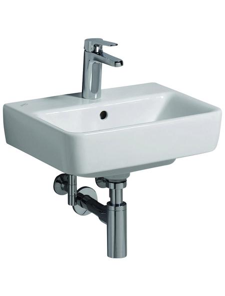 GEBERIT Handwaschbecken »Renova Compact«, Breite: 45 cm, eckig