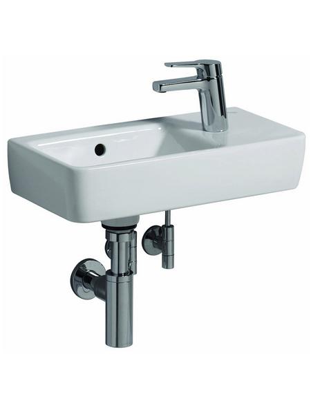 GEBERIT Handwaschbecken »Renova Compact«, BxT: 50 x 25 cm, mit Überlauf, Keramik