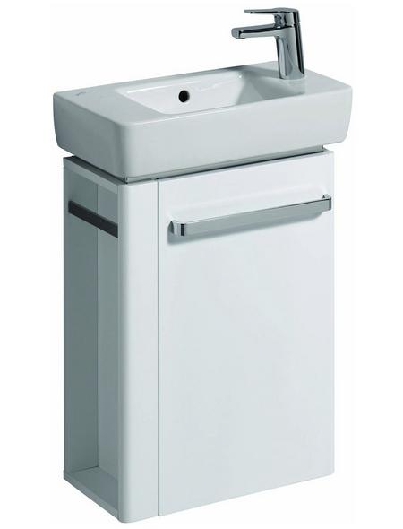 GEBERIT Handwaschbecken »Renova Compact«, BxT: 50 x 25 cm, mit Überlauf, Sanitärkeramik