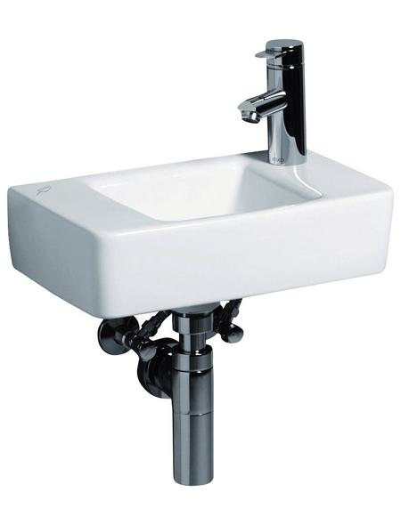 KERAMAG Handwaschbecken »Renova Plan«, Breite: 40 cm, eckig