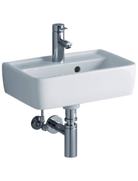 GEBERIT Handwaschbecken »Renova Plan«, Breite: 45 cm, eckig