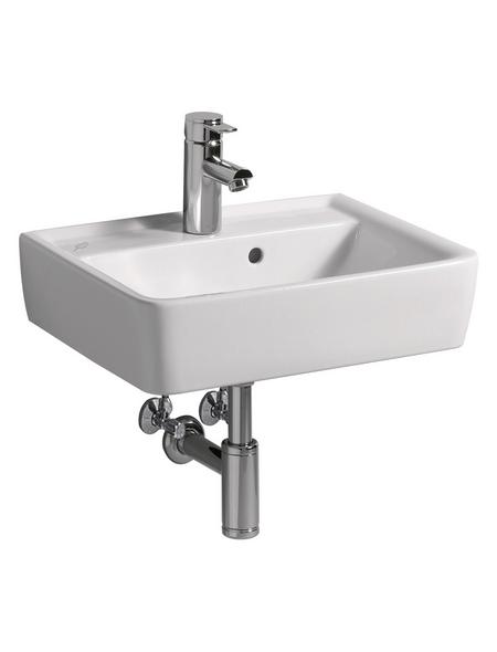 KERAMAG Handwaschbecken »Renova Plan«, Breite: 50 cm, eckig