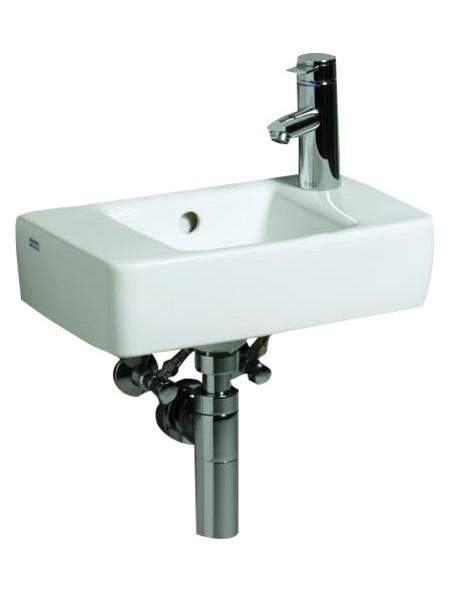 GEBERIT Handwaschbecken »Renova Plan«, BxT: 40 x 25 cm, Keramik
