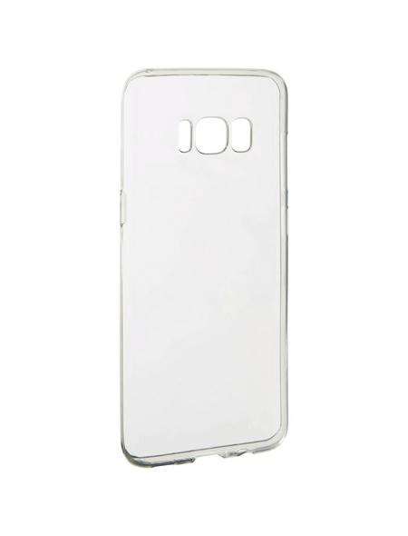 2GO Handyhülle, transparent, für Samsung Galaxy S8, glänzend