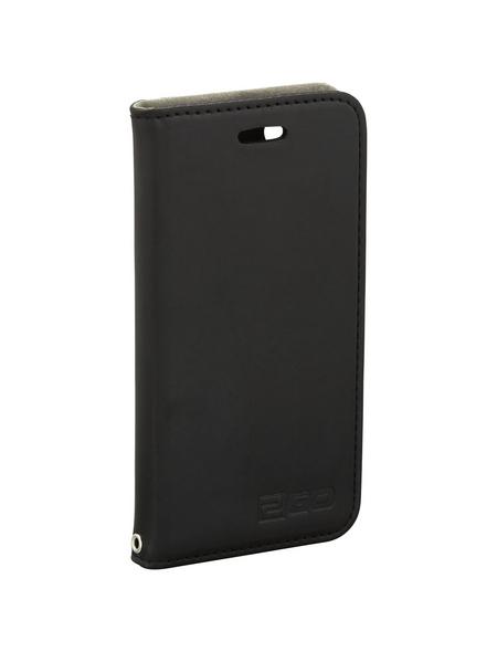 2GO Handytasche »Bookcase«, schwarz, für Apple iPhone 7 und 8, zusammenklappbar