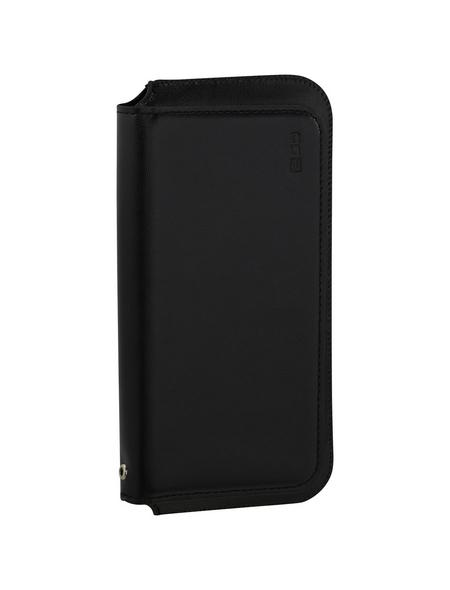 2GO Handytasche »Clutch«, schwarz, glänzend, zusammenklappbar