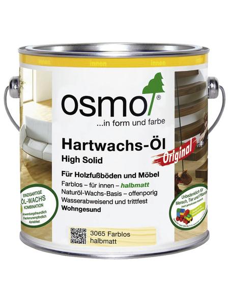 OSMO Hartwachsöl »High Solid«, farblos, halbmatt, 2,5 l